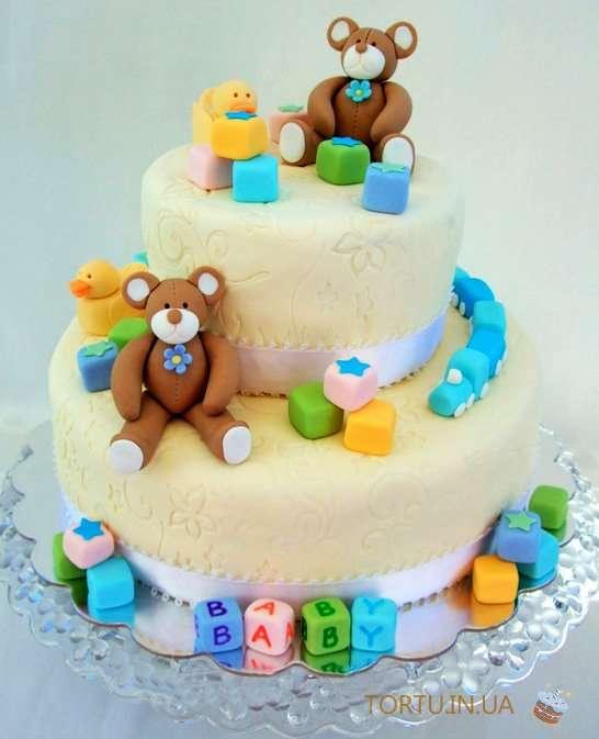 Тортик с рождением малыша фото