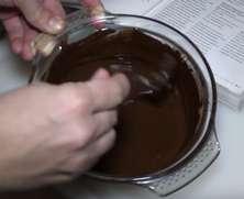 Приготування шоколадної мастики
