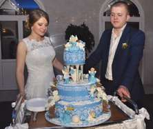 Відео приготування весільного торта
