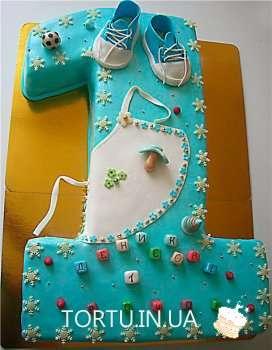 Торт у вигляді одинички