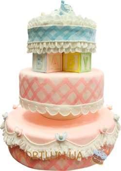 Шикарний торт для малюків
