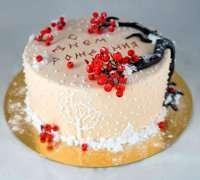 Торт з калиною
