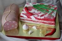 Торт  - сало на замовлення