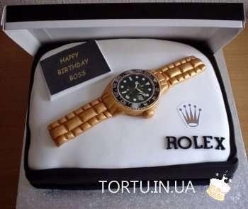 Торт-годинник