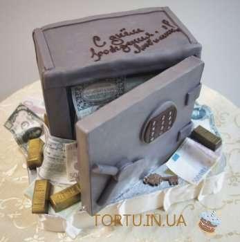 Торт Грошовий сейф