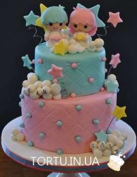Торт з казковими ангелятками