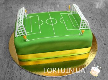 Торт футбольне поле
