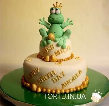 Торт жабки-принцески