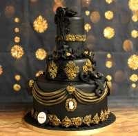 Торт в готичному стилі