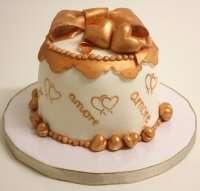 Торт - Любовний пакуночок