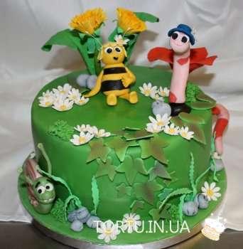 Торт Бджілка