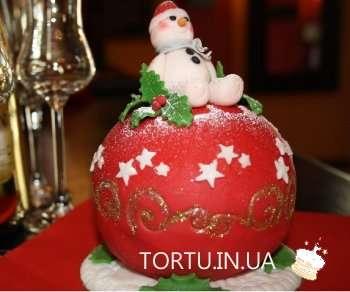 Торт - Зимова казка