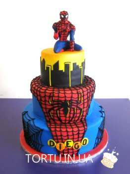Торт - Людина-Павук