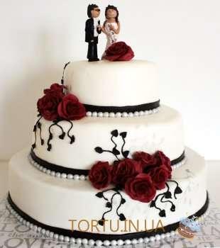 Сучасний весільний торт
