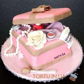 Торт - Коробка для косметики
