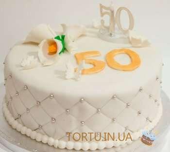 Жіночий ювілейний торт