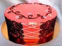 Торт-корсет