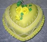 Торт - Лимонне серце
