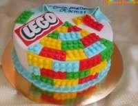 Дитячий торт Лего
