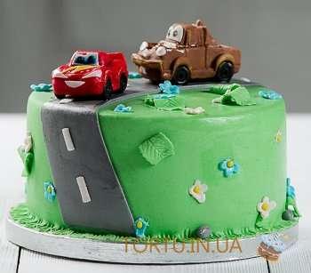 Торт на заказ з автомобілем
