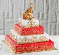 Шикарний торт з слоном. Заказати.