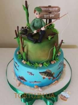 Торт для рибака