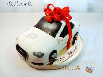 Торт автомобіль Ауді