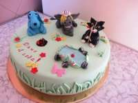 Бремські музиканти торт на заказ