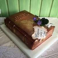 Торт книга для жінок
