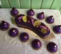Європейський торт з макарунами