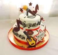 Торт для музиканта