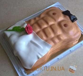 Торт - чоловічий торс