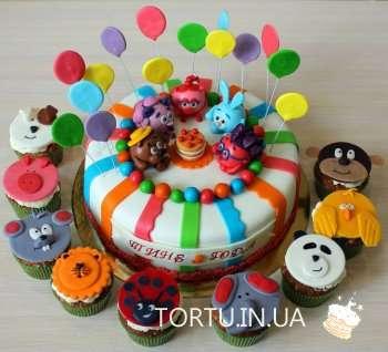 Веселый торт