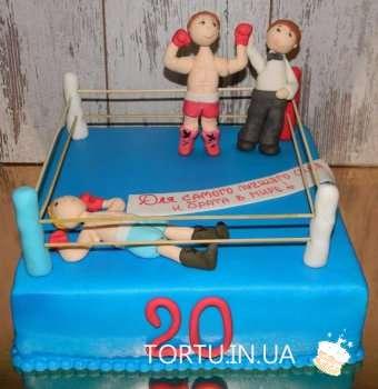 Торт з боксерами