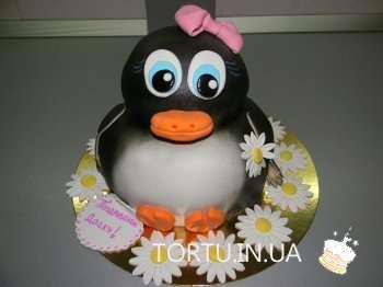 Торт пінгвін