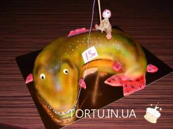 Торт риба щука