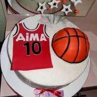 Торт для баскетболіста