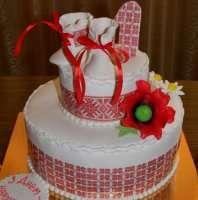 Торт з вишиванкою