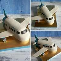 Торт самолет