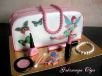 Торт для девочки - сумочка
