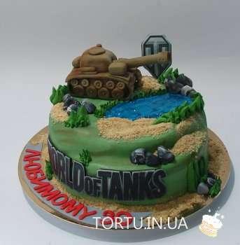 Торт з танком World of Tanks
