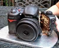 Торт фотоапарат замовити
