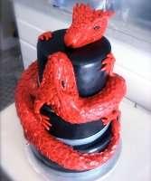 Торт дракон на заказ