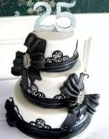 Торт для жінки на 25 років