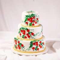 Торт з вишнями