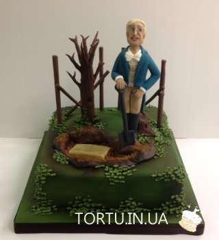 Торт для мисливця аристократа